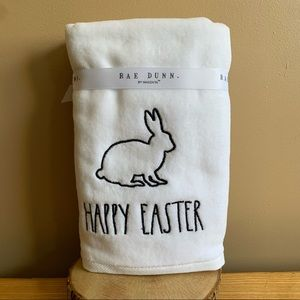 Rae Dunn - HAPPY EASTER - Hand Towels - New